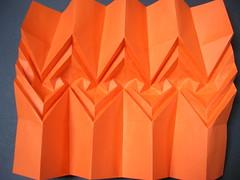 Gothic river (Mlisande*) Tags: origami mlisande corrugation polyscene