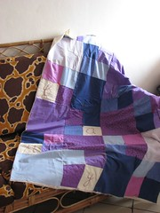 quilt  rhapsodie violette