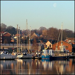 St Mary at Stoke (Simon_K) Tags: beautiful port docks suffolk waterfront lovely1 urbandecay quay wharf docklands stoke ipswich urbanrenewal wetdock eastanglia quayside urbanwasteland ransomes ivn neptunequay orwellquay wherryquay regattaquay stmaryatstoke cliffquay