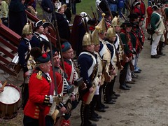 Crown Line (Ragnvaeig) Tags: newjersey nj hessians reenactment mercercounty trenton revwar 18thcen oldbarracks battleoftrenton trf17751783