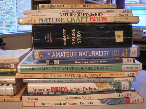 library nature books
