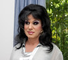Satin Blouse (Christine Fantasy) Tags: feminine chiffon makeup christine blouse fantasy transvestite satin crossdresser transsexual shemale