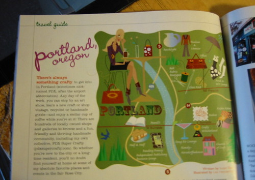 My Portland article in Adorn