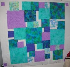 3rd qtr - 5-5 squares