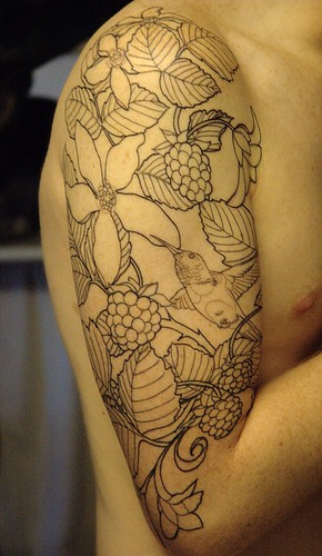 Tags: hummingbird tattoo, hummingbird tattoos,