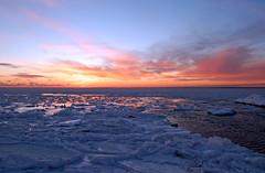 Cape Cod Winter (Cape Cod Cyclist) Tags: winter sunset seascape cold ice geotagged capecod massachusetts shoreline buzzardsbay northfalmouth oldsilverbeach geo:lat=4162384 geo:lon=70639901