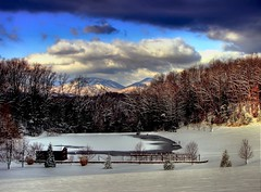 A Blue Ridge Winter Scene ( D L Ennis) Tags: usa snow mountains eye ice virginia frozen ennis ponds dl hdr blueridge winterscene naturesfinest splendiferous outstandingshots abigfave anawesomeshot travelerphotos