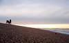 Dogs On Beach (mattrkeyworth) Tags: sunset sea beach dogs coast sony lincolnshire p12 dscp12 mattrkeyworth