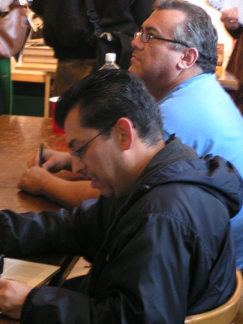 Gilbert & Jaime Hernandez at the Fantagraphics Bookstore & Gallery, 2007