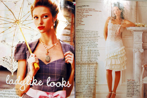 adorn magazine this month is lovely