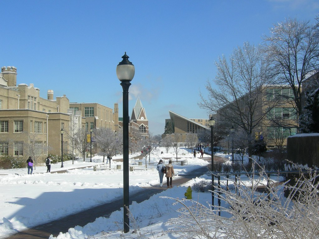 Xavier quad in winter