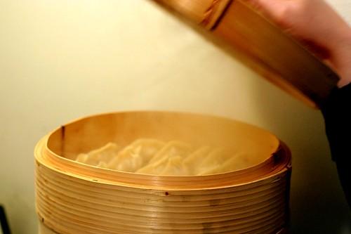 dumplings a-steaming