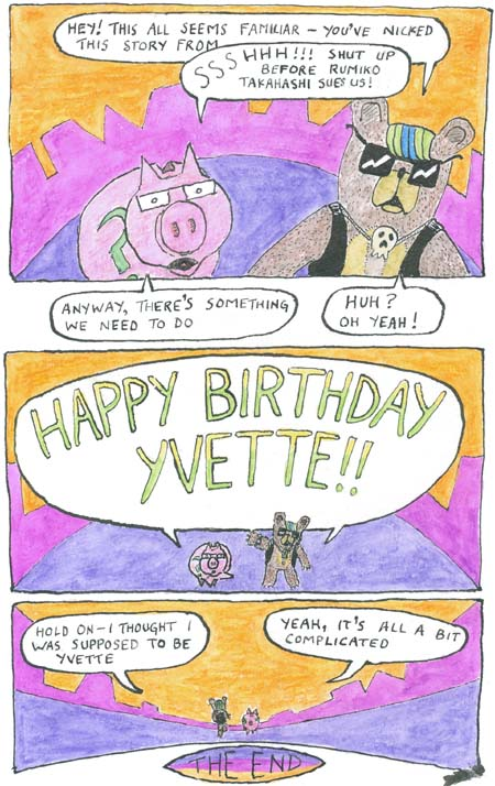 Birthday Comic page 4 of 4