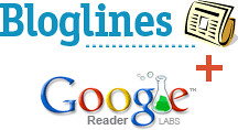 Google Reader & Bloglines Test