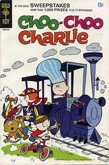 Choo Choo Charlie comic