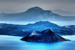 slumbering beast (DocTony Photography) Tags: blue mountain lake volcano bravo philippines taal soe questfortherest interestingness6 magicdonkey i500 wowiekazowie flickrdiamond doctony explore24feb07 gettyimagesphilippinesq1