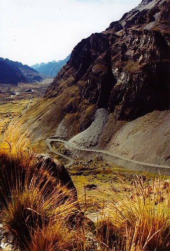 Just Outside La Paz, Bolivia by the roadiegirl
