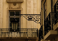 The window and the lampost II (pedrosimoes7) Tags: world windows portugal window lisboa lisbon ventanas lampost balconies cpt janelas candeeiro chiado doorsandwindowsaroundtheworld janelasportuguesas creativephotocafe