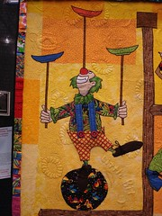 Clowns on parade detail