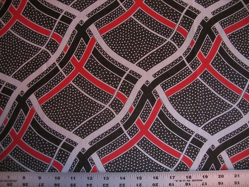 vintage cotton print--four yards!