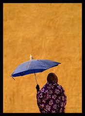 Woman protecting from the sun with an umbrella, Mendefera, Eritrea (Eric Lafforgue) Tags: africa woman wall umbrella mur thewall eritrea parapluie ilmuro eastafrica aoi eritreo erytrea erythre eritreia  ericlafforgue ertra    eritre eritreja eritria mendefera wwwericlafforguecom  rythre africaorientaleitaliana     eritre eritrja  eritreya  erythraa erytreja