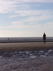 They stand quietly (Welsh Red Snapper) Tags: liverpool crosby antonygormley anotherplace