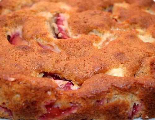 Pear and Plum Cake 1