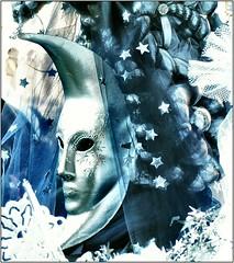 The moon (aviana2) Tags: blue venice italy color mask venezia luxury carneval aviana2