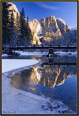 Curves (Thi) Tags: yosemitefalls valley yosemite yosemitevalley mercedriver swingingbridge yosemitewinter