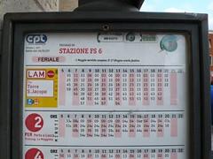 比薩公車時刻表