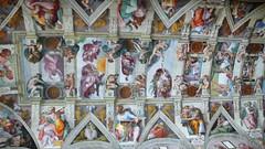 西斯汀小教堂-頂棚壁畫