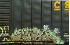 worms (Tea Leaf Bench) Tags: america train painting this graffiti is cool yeah rail artists spraypaint graff tagging freight trainart newset freighttraingraffiti