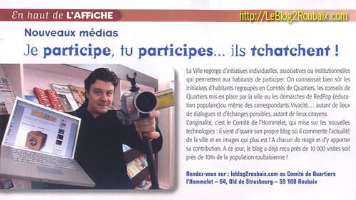 Leblog2Roubaix sur Roubaix Mag