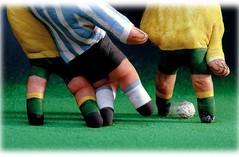 Por un fútbol sin violencia, que las hinchadas se den la mano