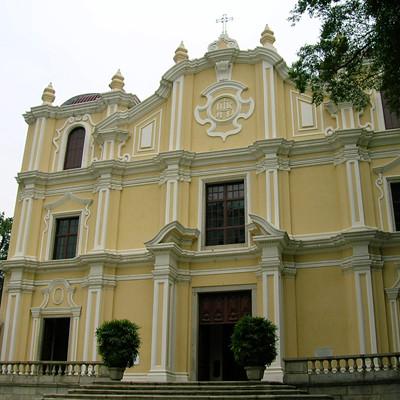 聖若瑟修院內的聖堂