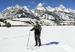 Smiles in Grand Teton National Park (Jeff Clow) Tags: wyoming crosscountryskiing grandtetonnationalpark jeffclow photobybevclow