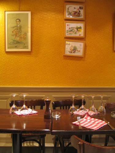 Restaurant in Montparnasse