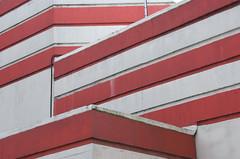 Eisenhower Centre (Myxi) Tags: red white london lines bunker ww2 artdeco derelict interestingness225 borderingperception