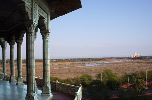The Taj from Shah Jahan's balcony