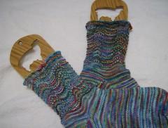Pinata Ridged Feather socks