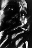 Last train - Smoking carriage (mexadrian) Tags: old portrait white man black train mexico cigarette documentary veracruz accepted1of100bw