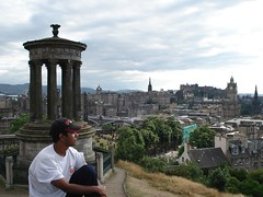 Di puncak Calton Hill, Edinburgh, Scotland, United Kingdom