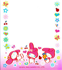 My Melody (lightning_lover) Tags: sanrio memo kawaii stationery notepaper