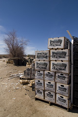 Organic (Lost America) Tags: rot desert decay mojave organic spinach foodbank fooddrive stench rottenfood helendale
