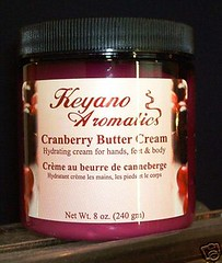 keyano aromatics cranberry butter cream