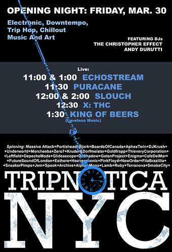 Tripnotica at Rebel - March 30
