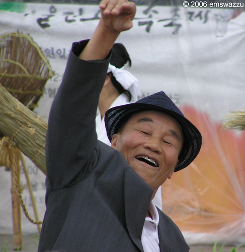 Folk festival, Seoul, South Korea, photo by Elisa Sherman 2006