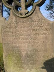 Parbold Richard d.1849 m Elizabeth (Livesey) d.1852