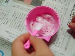 こなぷんでアイスクリームづくり