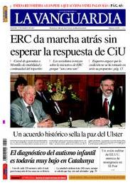 La Vanguardia no fa marxa enrera